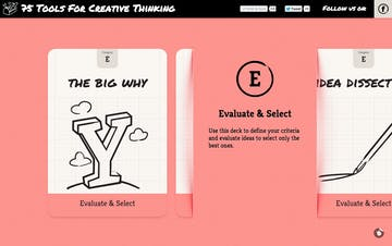 75 Tools For Creative Thinking Thumbnail Preview