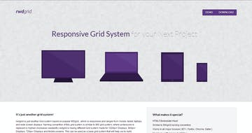 Responsive CSS Grid System Thumbnail Preview