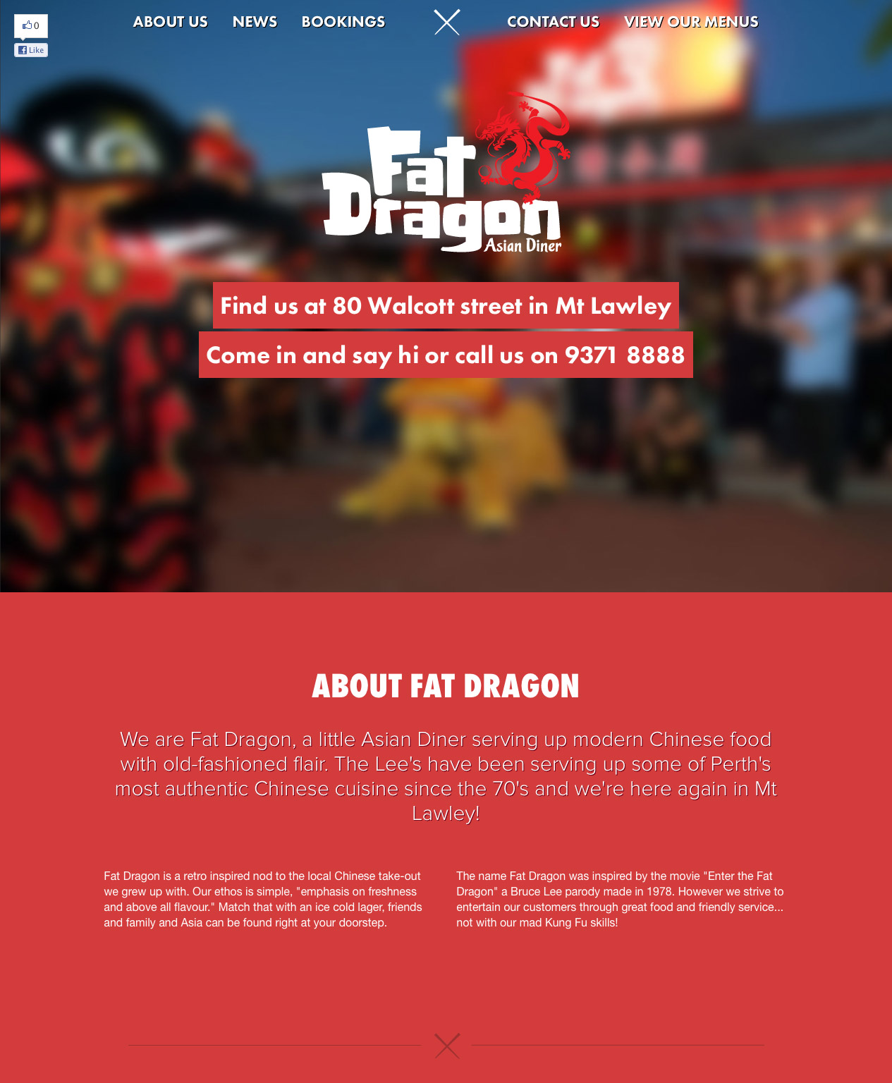 Fat Dragon Website Screenshot