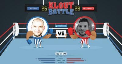 Klout Battle Thumbnail Preview