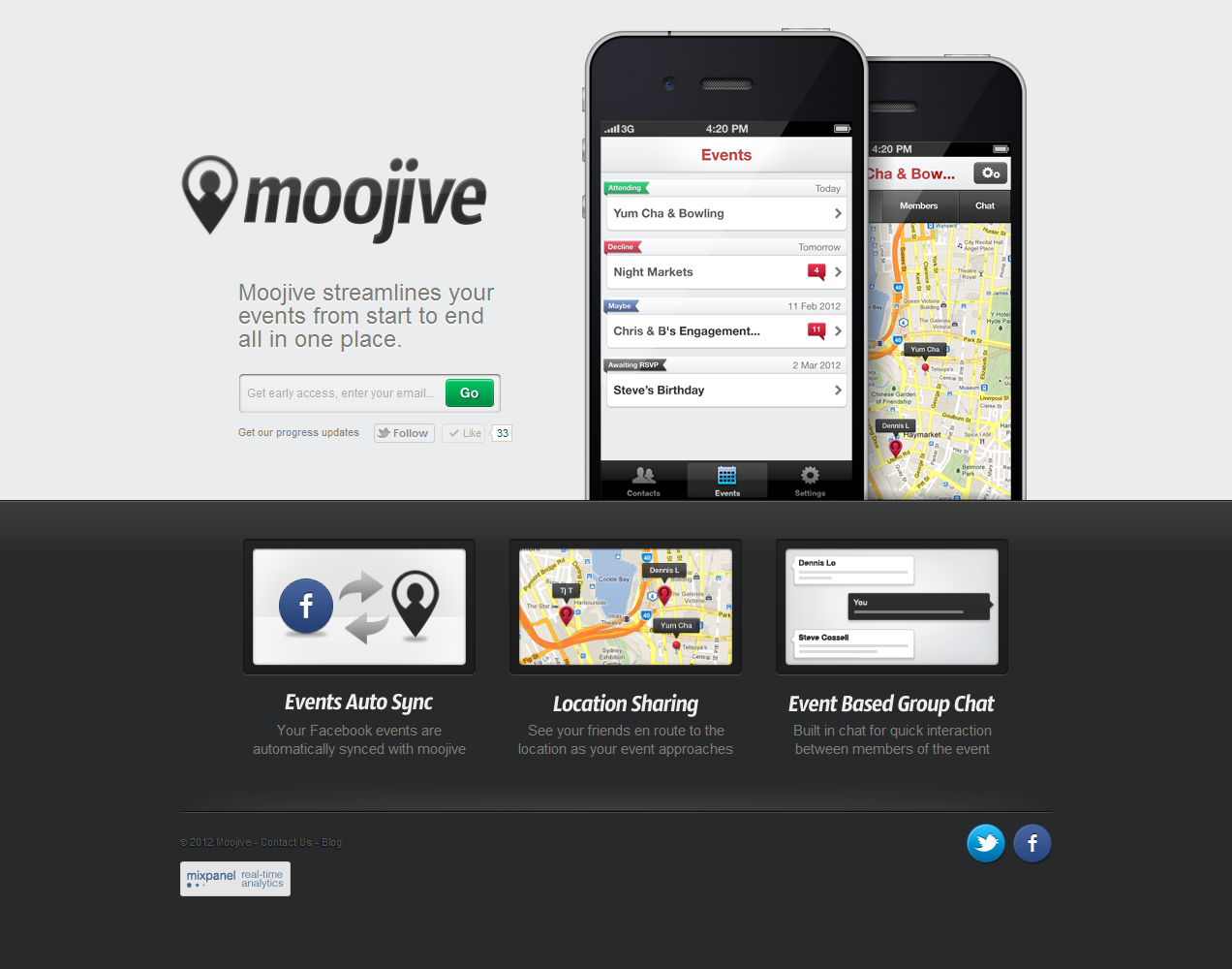 Moojive Website Screenshot