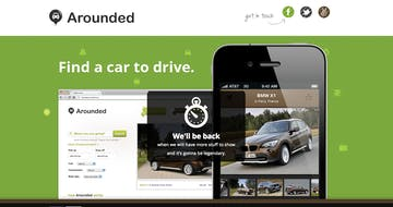 Find a car for rent – Arounded Thumbnail Preview