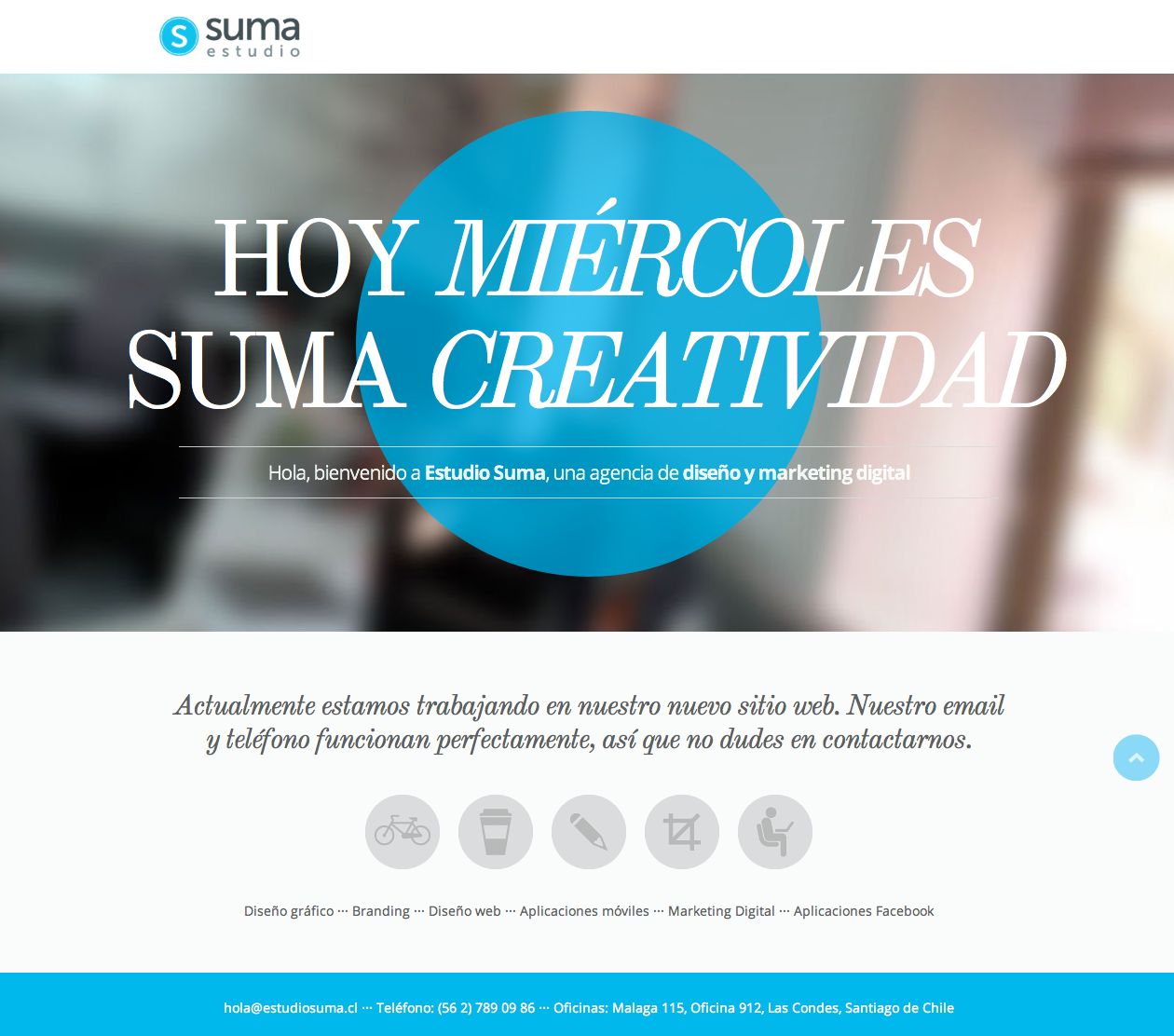 Suma Website Screenshot