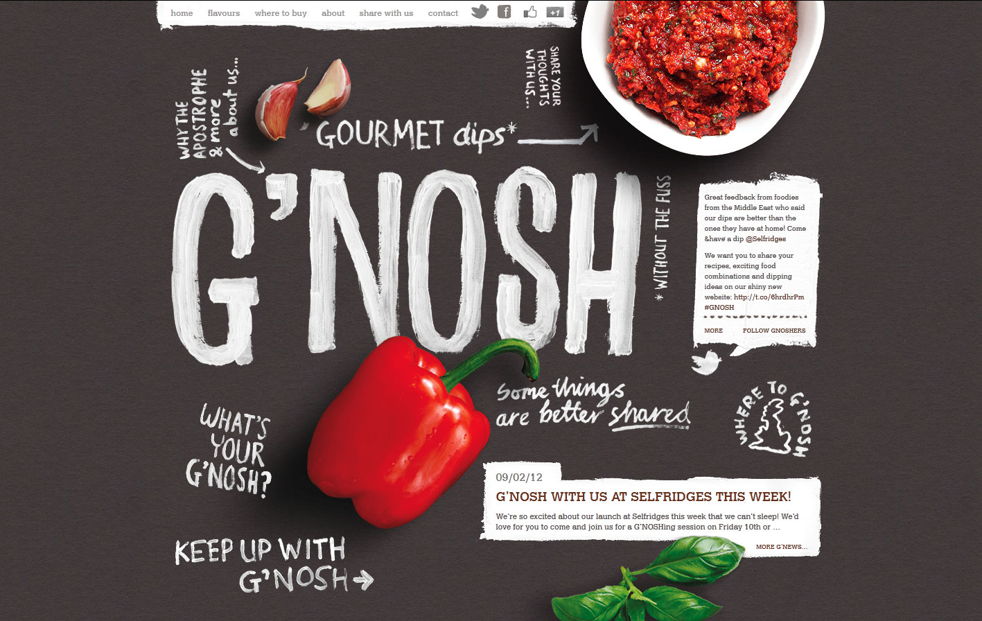 G'nosh Limited Website Screenshot
