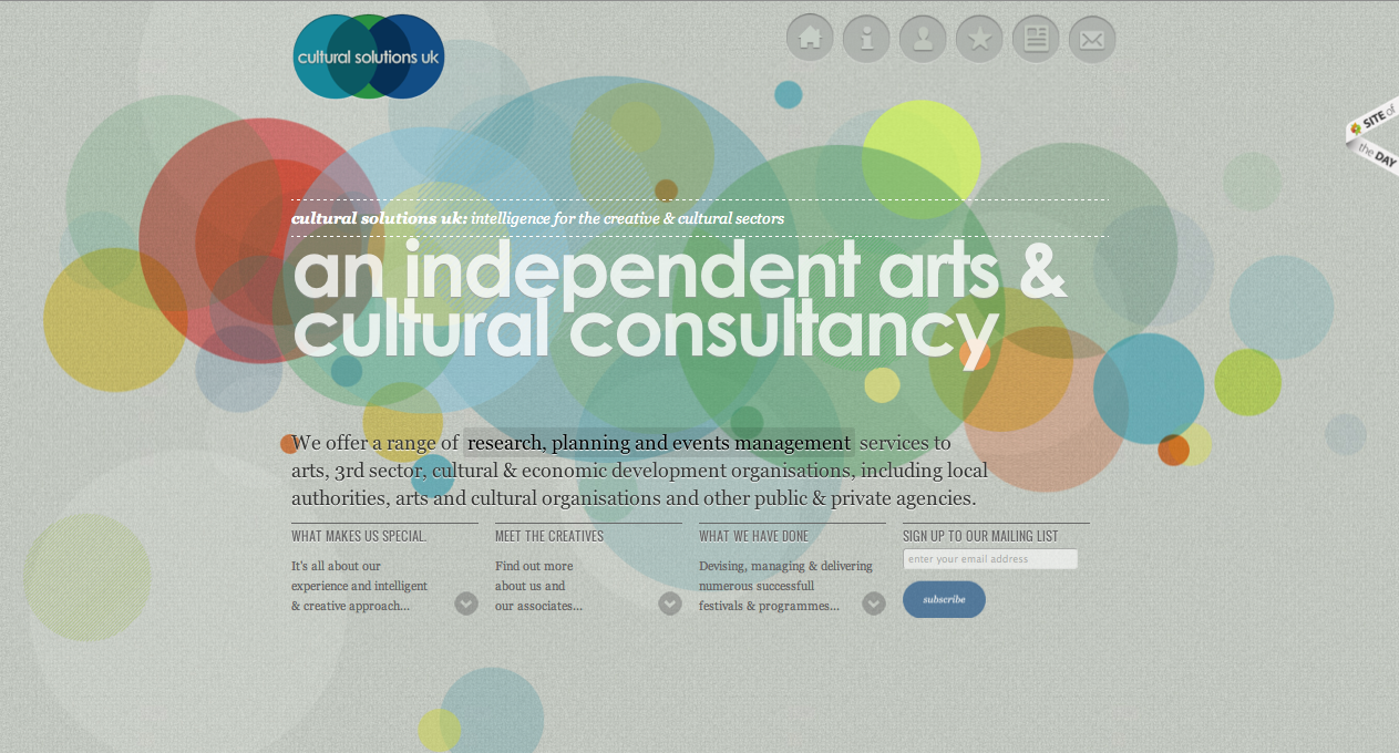 Cultural Solutions UK Website Screenshot