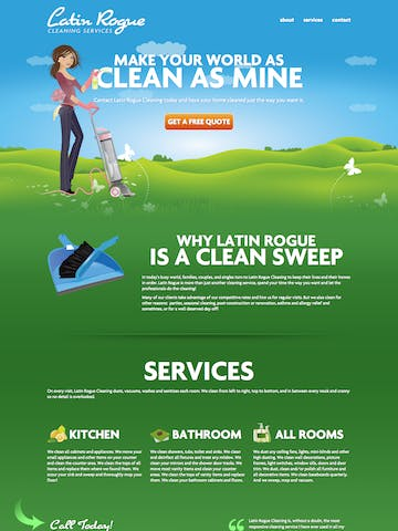 Latin Rogue Cleaning Services Thumbnail Preview