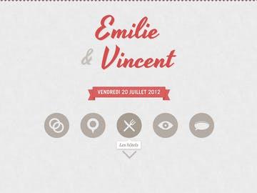 Emilie & Vincent's Wedding Thumbnail Preview