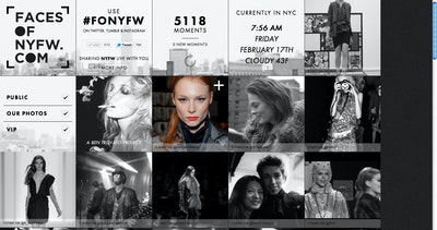 Faces Of New York Fashion Week Thumbnail Preview