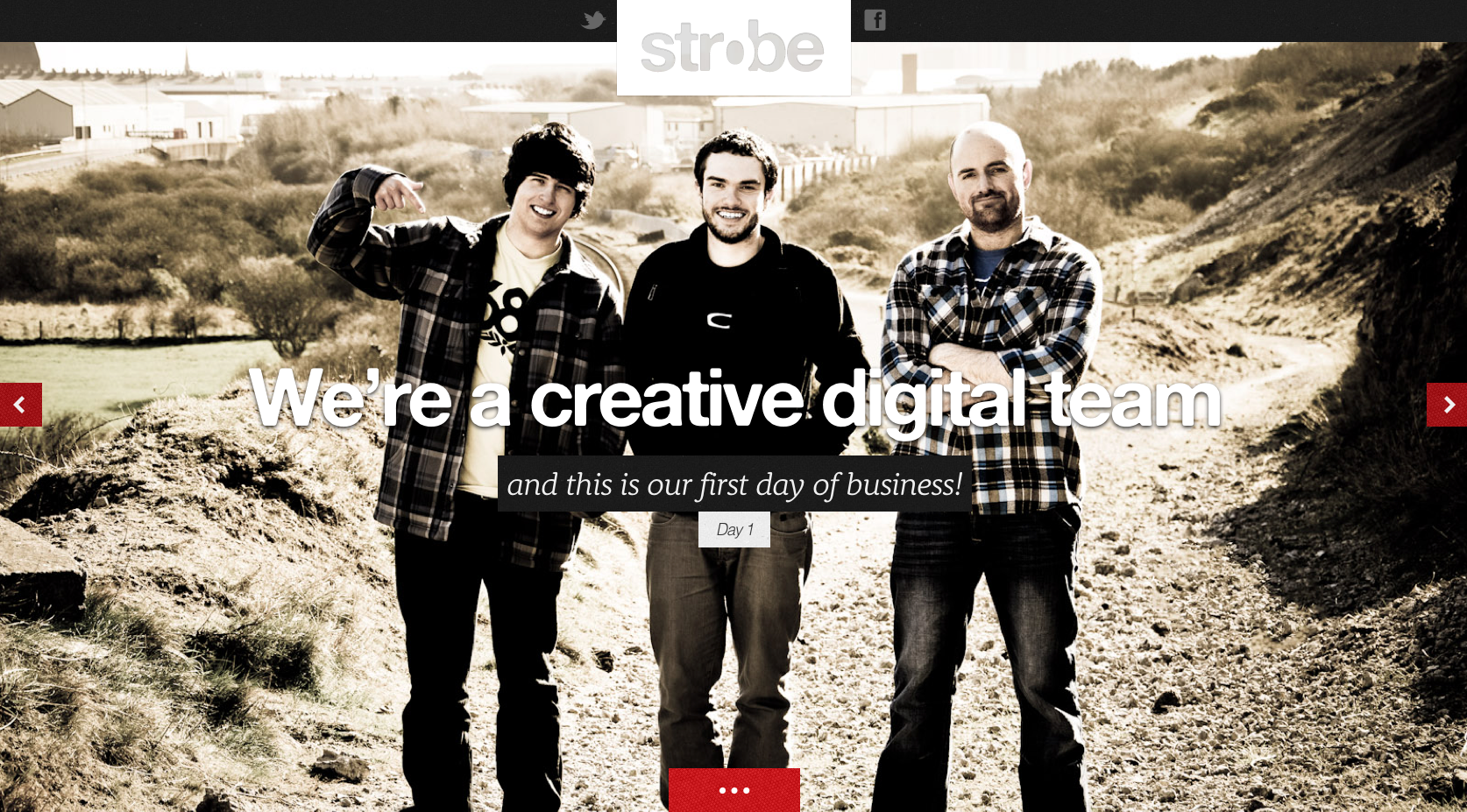 Strobe Digital Website Screenshot
