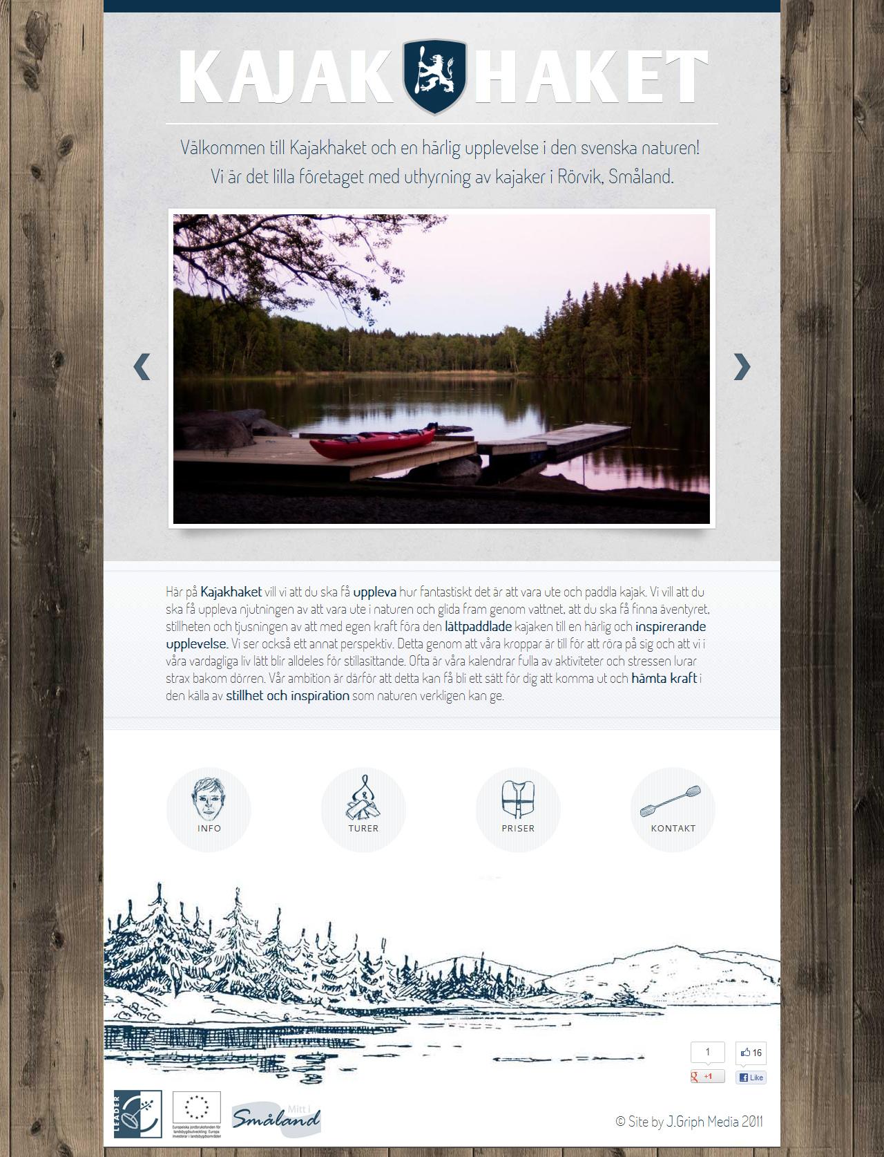 Kajakhaket Website Screenshot
