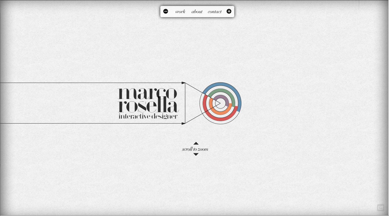 Marco Rosella Website Screenshot