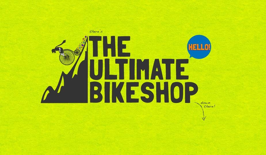 The Ultimate Bikeshop Website Screenshot