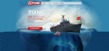 Q music Titanic Thumbnail Preview