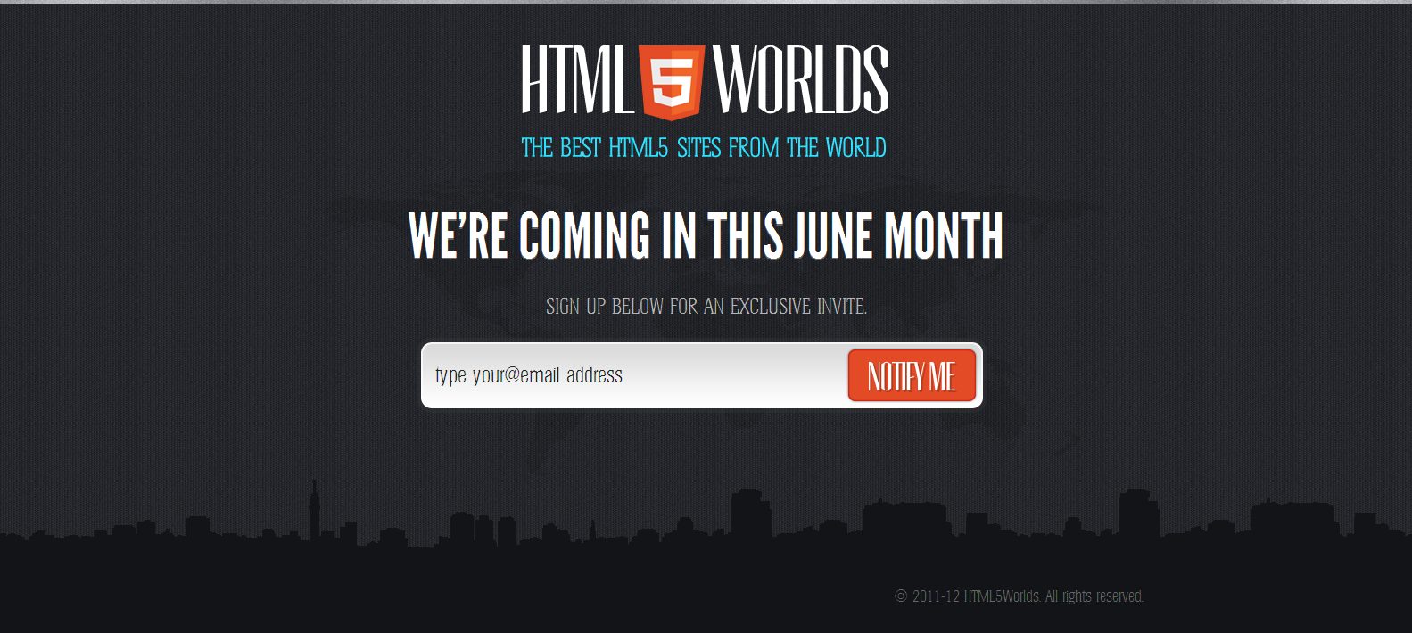Html5Worlds Website Screenshot