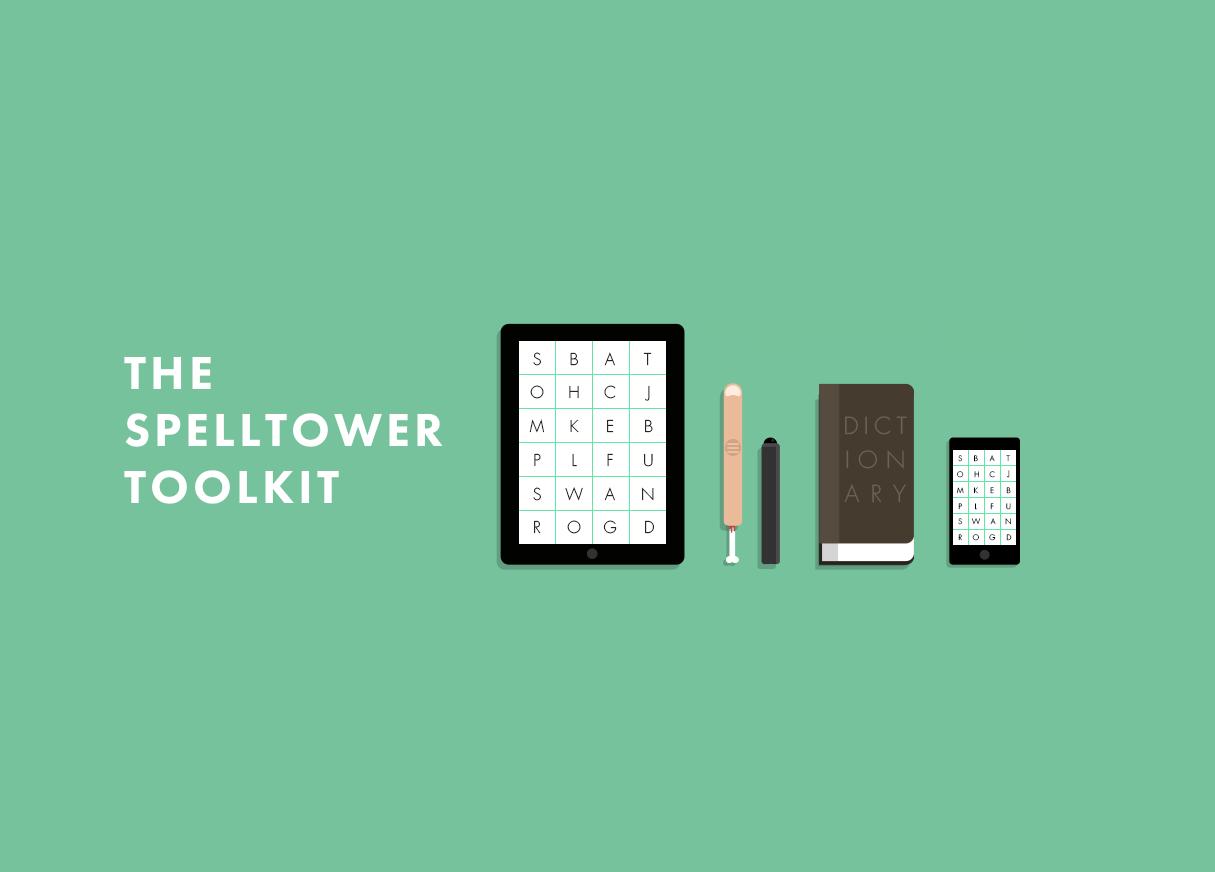 SpellTower Website Screenshot