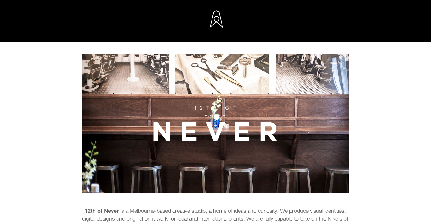 12th of Never Website Screenshot