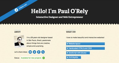Paul O'Rely Thumbnail Preview