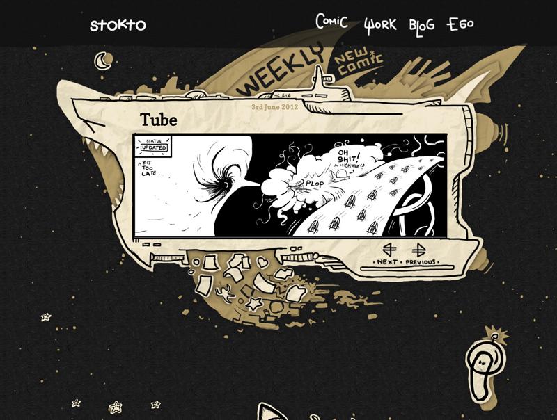 Stokto Website Screenshot