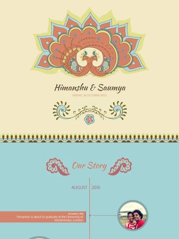 Saumya & Himanshu Wedding Thumbnail Preview