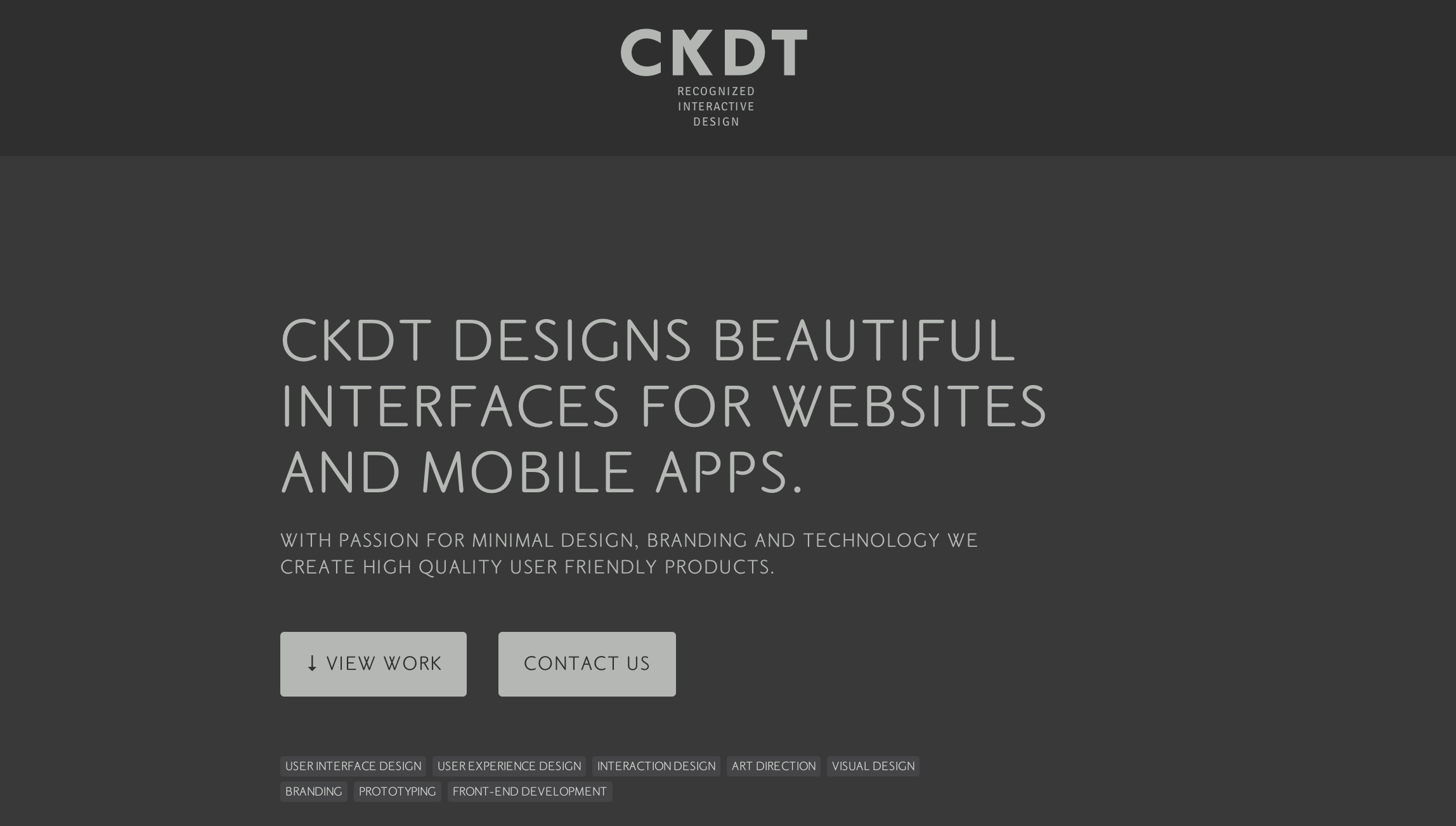 CKDT Website Screenshot