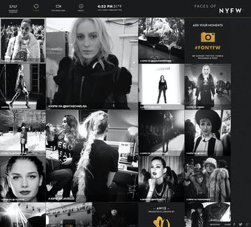 Faces of NYFW Thumbnail Preview