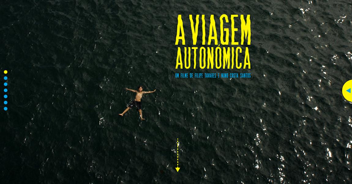 A Viagem Autonómica Website Screenshot