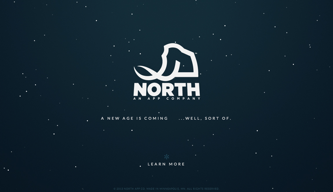 North App Co. Website Screenshot