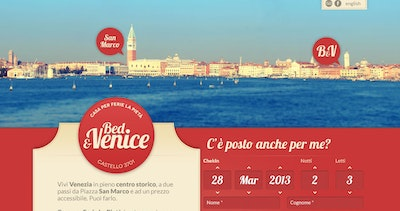 Bed & Venice Thumbnail Preview