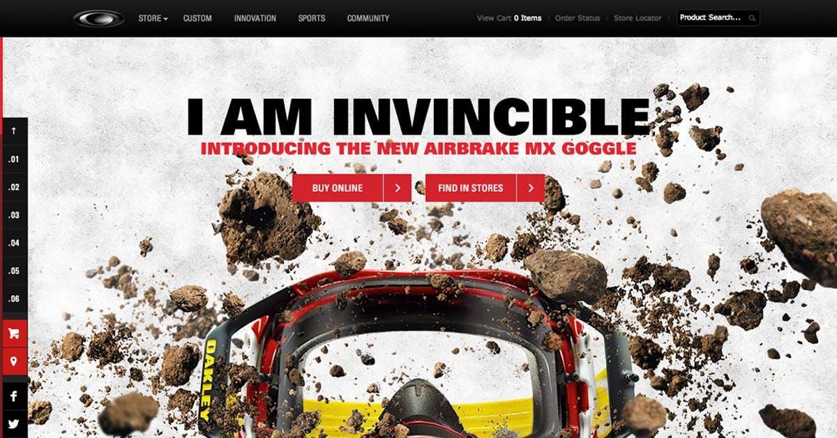 688441bb83 Oakley Airbrake MX - Most Loved Website Award