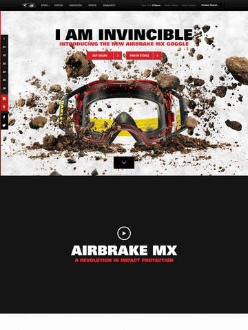 Oakley Airbrake MX Thumbnail Preview