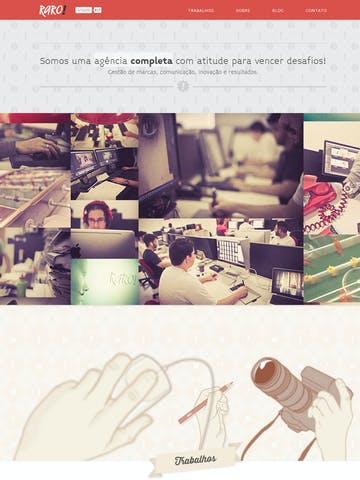 Raro! Agência de Comunicação Thumbnail Preview