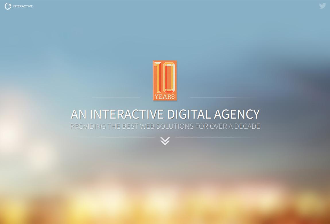 eTecc / Interactive Website Screenshot