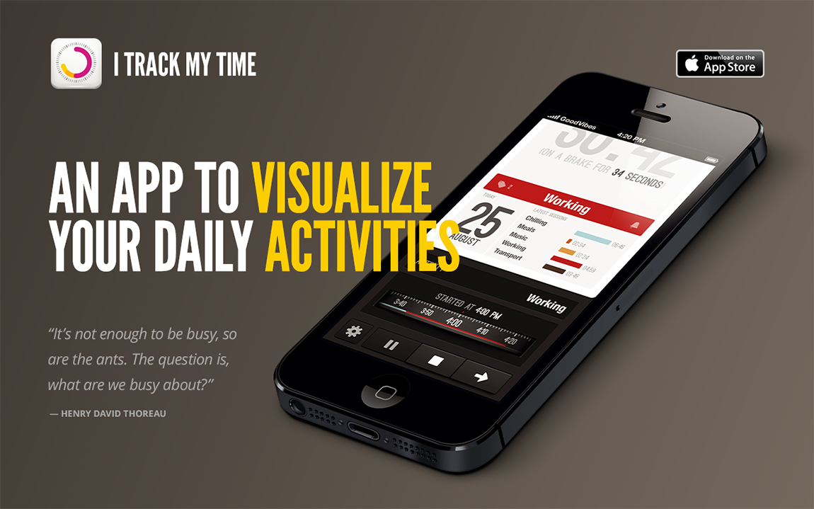 iTrackMyTime Website Screenshot