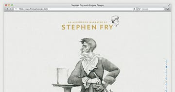 Fry reads Eugene Onegin Thumbnail Preview
