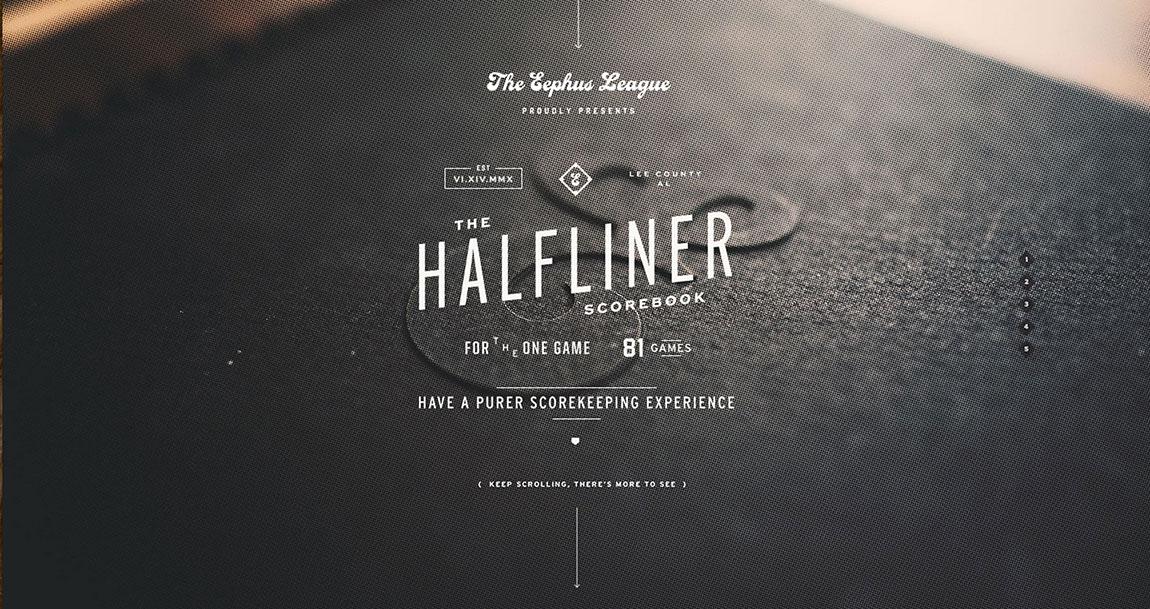 Halfliner Website Screenshot