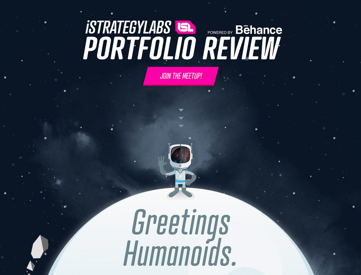 iStrategyLabs Portfolio Review Website Screenshot