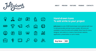 Jolly Icons Thumbnail Preview