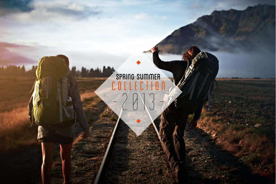Quechua – Lookbook Spring Summer 2013 Website Screenshot