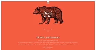 Think Bear Thumbnail Preview