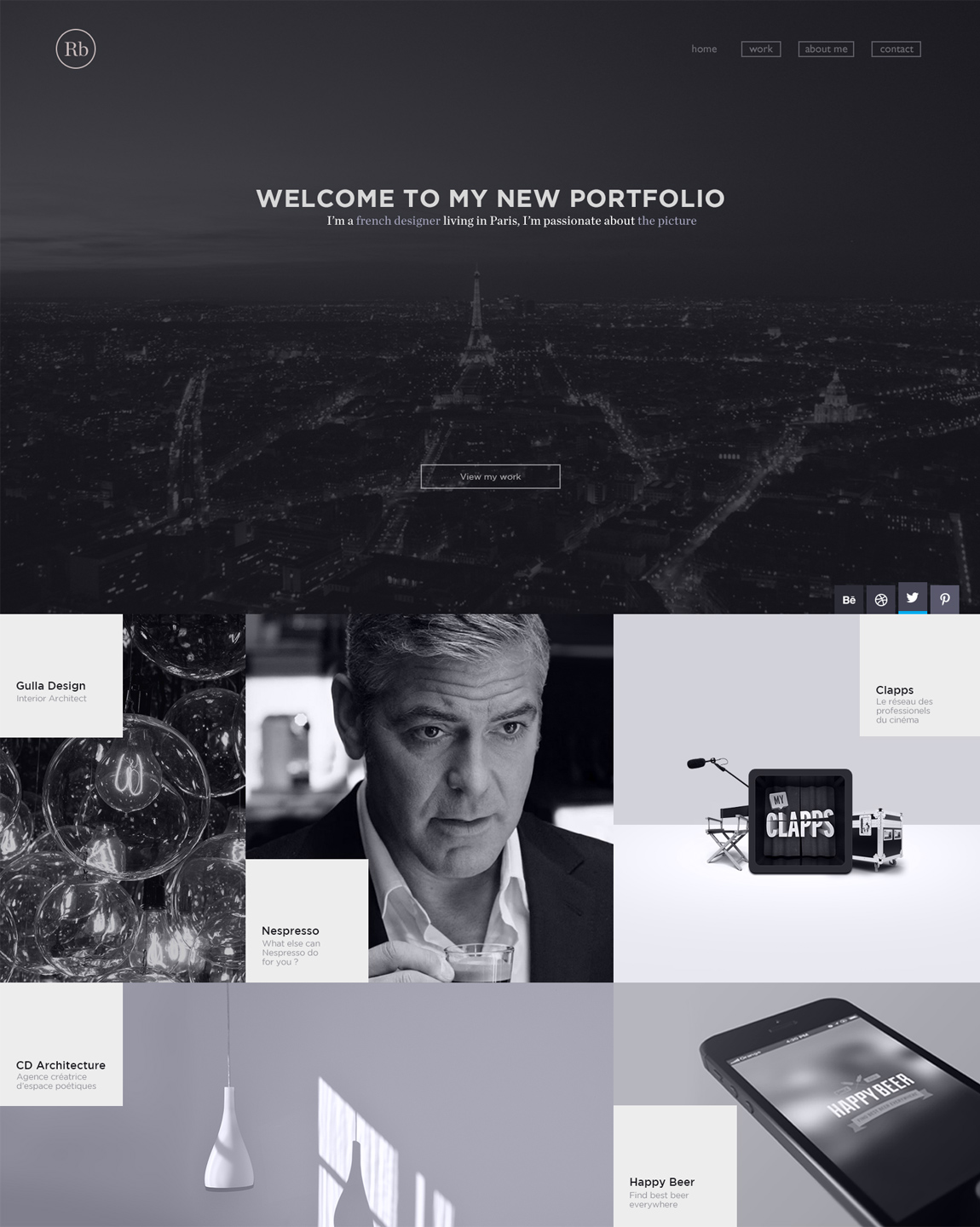 Romain Briaux Website Screenshot