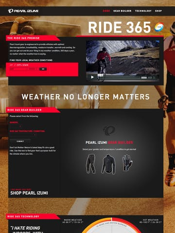 Pearl Izumi / Ride 365 Thumbnail Preview