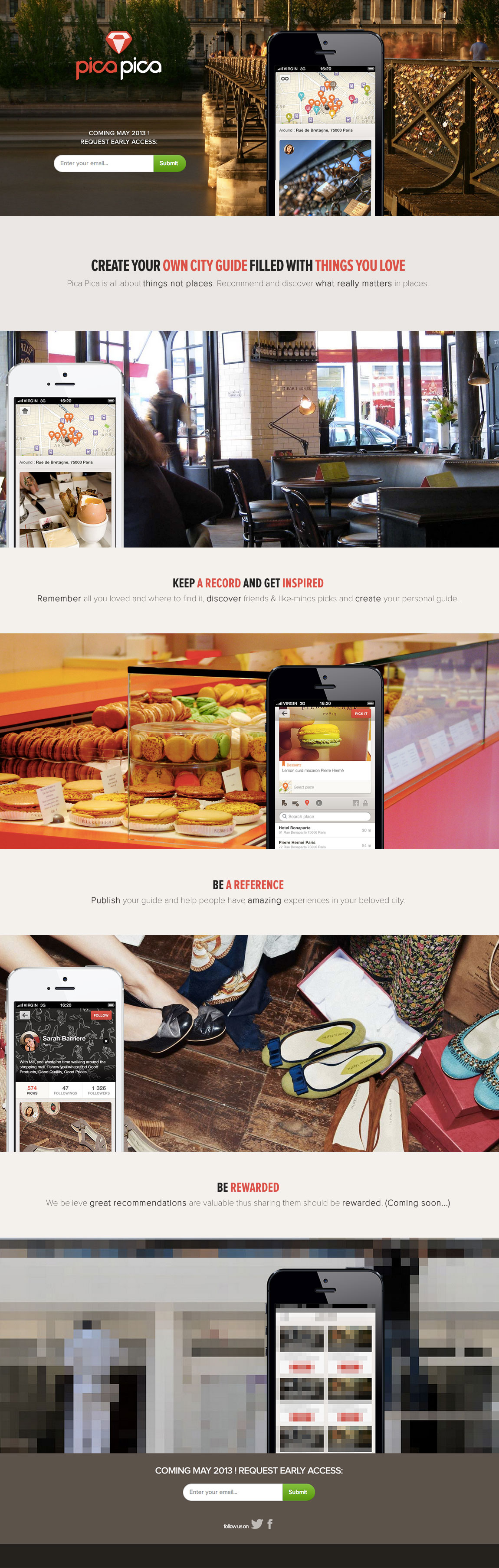 Pica Pica Website Screenshot