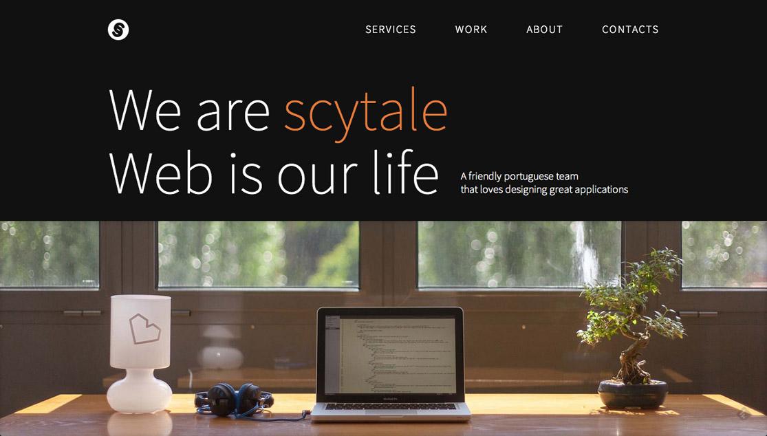 Scytale Website Screenshot