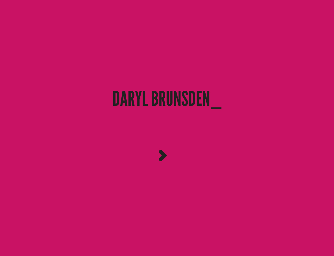 Daryl Brunsden Website Screenshot