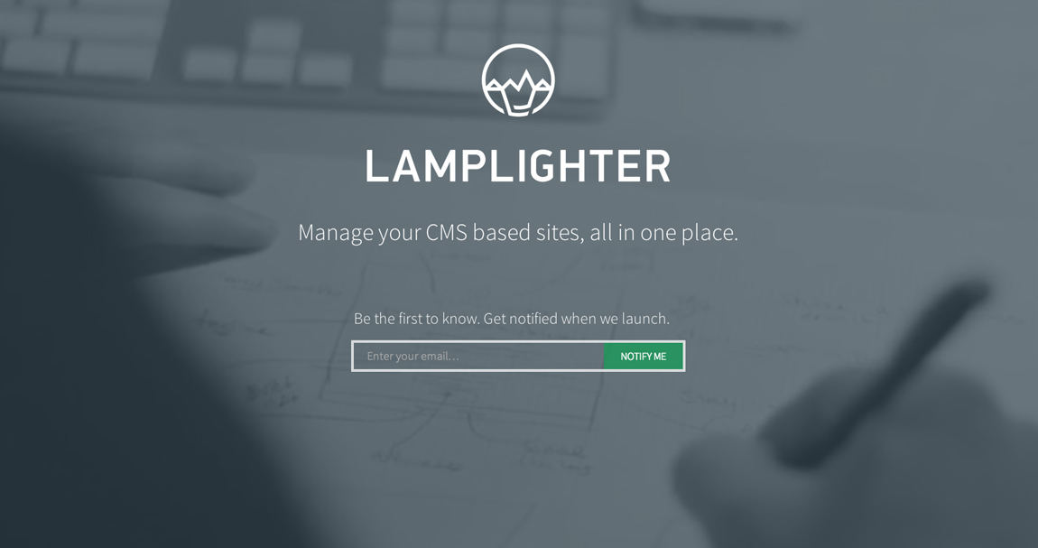 Lamplighter Website Screenshot
