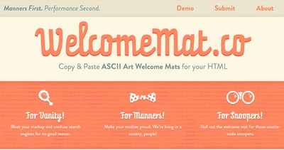 WelcomeMat.co Thumbnail Preview