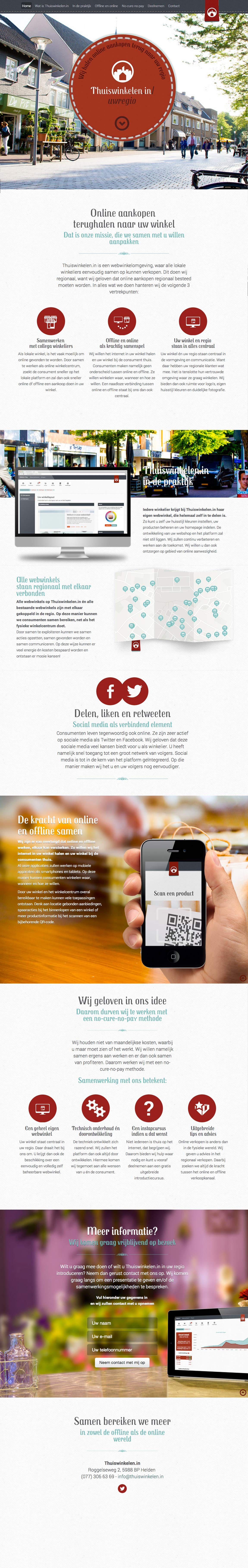 Thuiswinkelen.in Website Screenshot