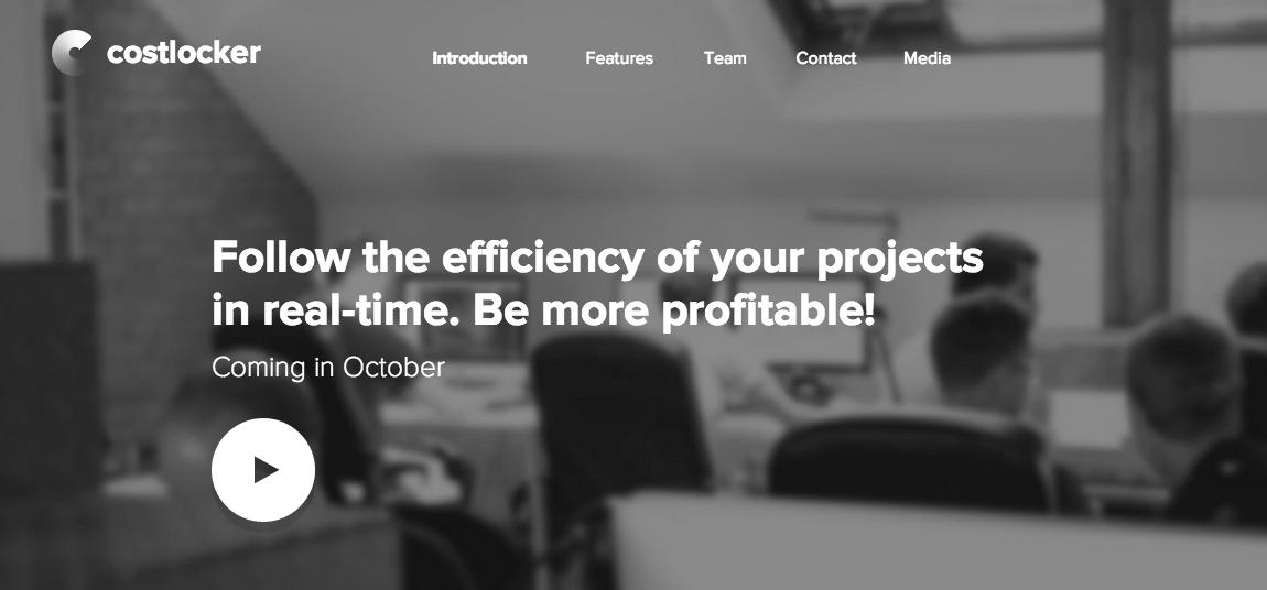 Costlocker Website Screenshot