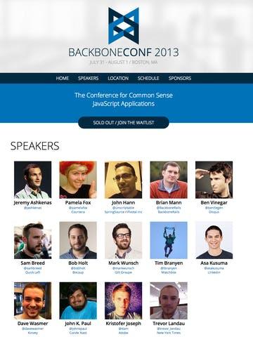 BackboneConf 2013 Thumbnail Preview