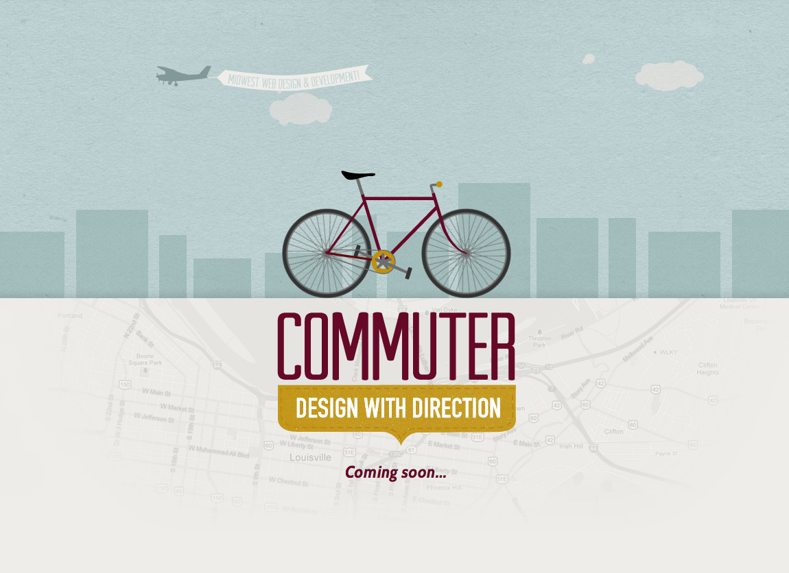Commuter Creative Website Screenshot
